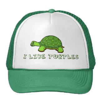 Tengo gusto de lindo verde de las tortugas gorras de camionero
