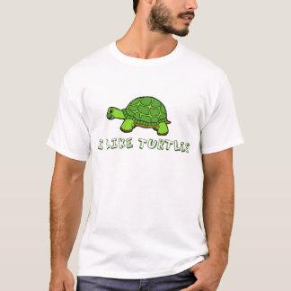 Tengo gusto de lindo verde de las tortugas playera