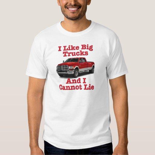 Tengo gusto de los camiones grandes…. Dodge Remeras