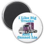 Tengo gusto de los camiones grandes y no puedo men imanes