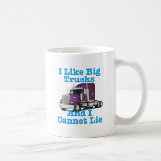 Tengo gusto de los camiones grandes y no puedo men taza