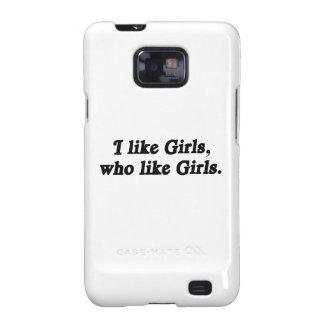 Tengo gusto de los chicas que como los chicas .png samsung galaxy SII fundas
