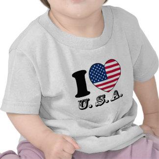 Tengo gusto de los E E U U - unidos sacia del Ban Camisetas