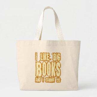 Tengo gusto de los libros grandes y no puedo menti bolsas