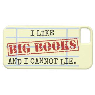 Tengo gusto de los libros grandes y no puedo menti iPhone 5 Case-Mate protectores