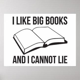 Tengo gusto de los libros grandes y no puedo menti impresiones