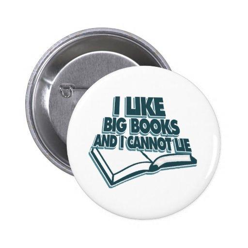 Tengo gusto de los libros grandes y no puedo menti pins