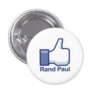 Tengo gusto de los pulgares de Paul del rand para Pin Redondo 2,5 Cm