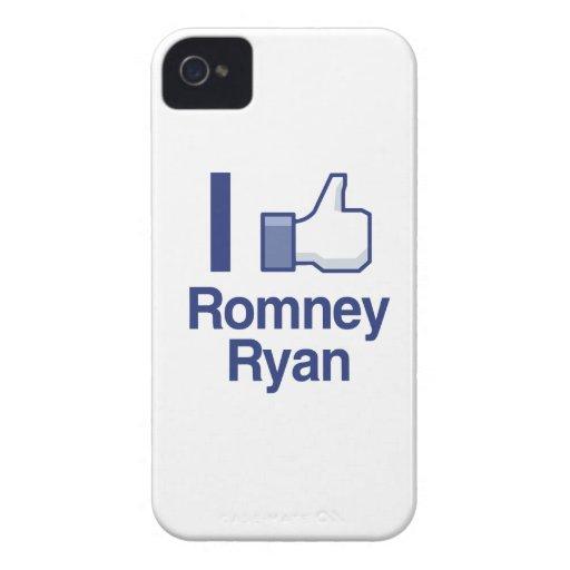 TENGO GUSTO de los PULGARES UP.png de ROMNEY RYAN iPhone 4 Funda