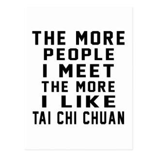 Tengo gusto de más ji Chuan del Tai Tarjetas Postales