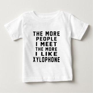 Tengo gusto de más xilófono t-shirts