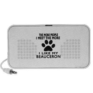 Tengo gusto de mi Beauceron. Notebook Altavoz