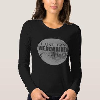 Tengo gusto de mi camiseta envuelta larga de Cajun Poleras