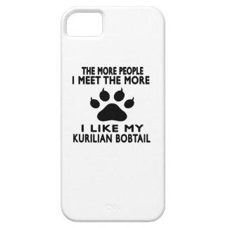 Tengo gusto de mi Kurilian Bobtail. iPhone 5 Cárcasas