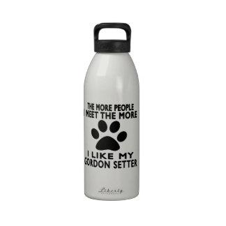 Tengo gusto de mi organismo de Gordon Botella De Agua Reutilizable