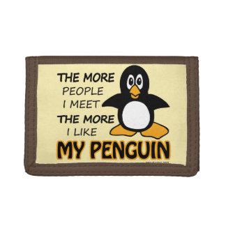 Tengo gusto de mi pingüino más que gente