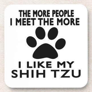 Tengo gusto de mi Shih Tzu. Posavasos