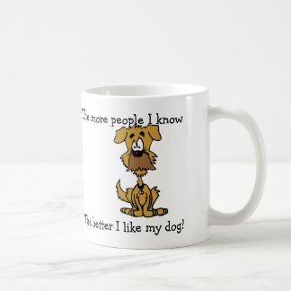 Tengo gusto de mi taza del perro