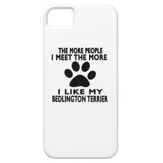Tengo gusto de mi terrier de Bedlington iPhone 5 Cobertura