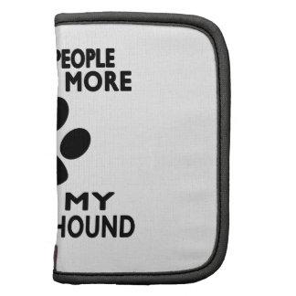 Tengo gusto de mi Wolfhound. irlandés Planificadores