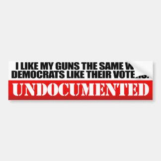 Tengo gusto de mis armas - conservador - .png pegatina para auto