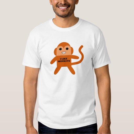 tengo gusto de monos remera
