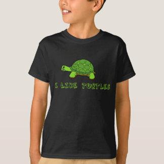 Tengo gusto de niños de las tortugas poleras