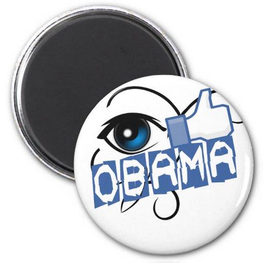 tengo gusto de obama imán de frigorífico
