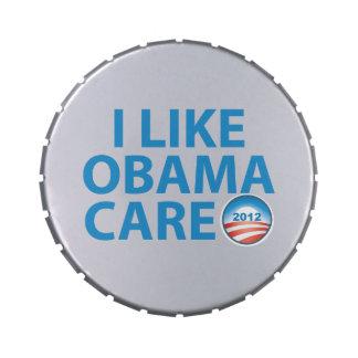 Tengo gusto de Obamacare Frascos De Dulces