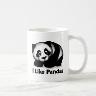 Tengo gusto de pandas tazas de café