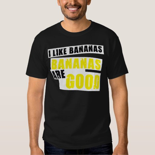 Tengo gusto de plátanos - los plátanos son buenos playeras