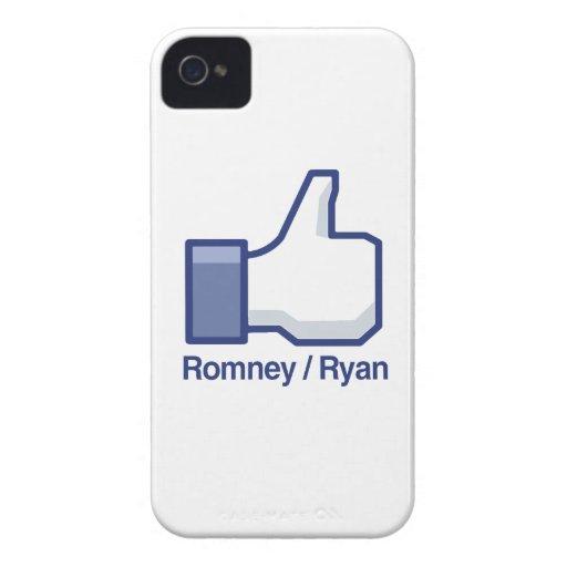 TENGO GUSTO de ROMNEY RYAN.png Case-Mate iPhone 4 Protector