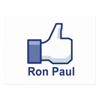 TENGO GUSTO DE RON PAUL POSTALES