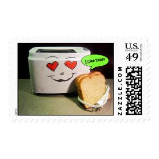 Tengo gusto de sellos Toasty