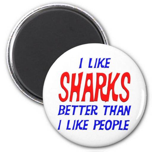 Tengo gusto de tiburones mejores que tengo gusto d iman de nevera