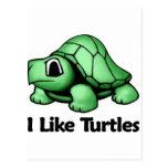 Tengo gusto de tortugas postales