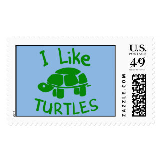 Tengo gusto de tortugas sellos