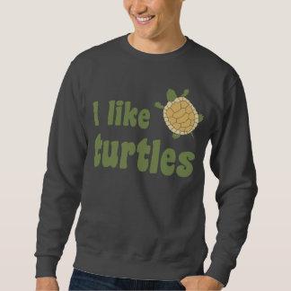 Tengo gusto de tortugas sudadera con capucha
