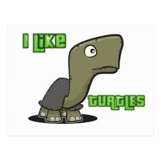 Tengo gusto de tortugas tarjetas postales