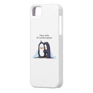 ¡Tengo gusto de usted los pingüinos de un Lottle - iPhone 5 Funda