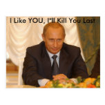"""Tengo gusto de USTED, matanza del ll de I """" que us Tarjeta Postal"""