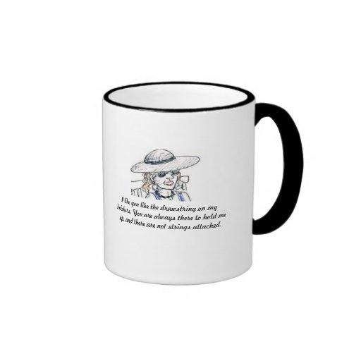 Tengo gusto de usted tazas de café