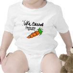 Tengo gusto de zanahorias traje de bebé