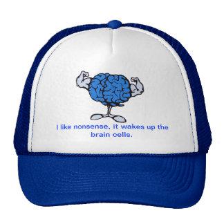 Tengo gusto del absurdo, él despierto a las neuron gorros bordados