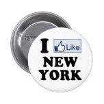 Tengo gusto del amor de Nueva York NY Pin