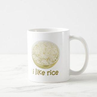 Tengo gusto del arroz taza
