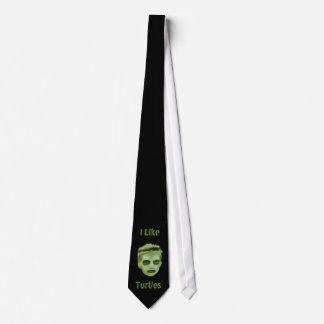 Tengo gusto del lazo del niño del zombi de las tor corbata personalizada
