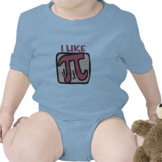 Tengo gusto del pi trajes de bebé