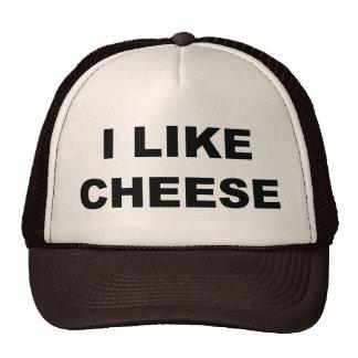 Tengo gusto del queso gorro de camionero