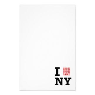 Tengo gusto realmente realmente realmente de NY Papelería Personalizada